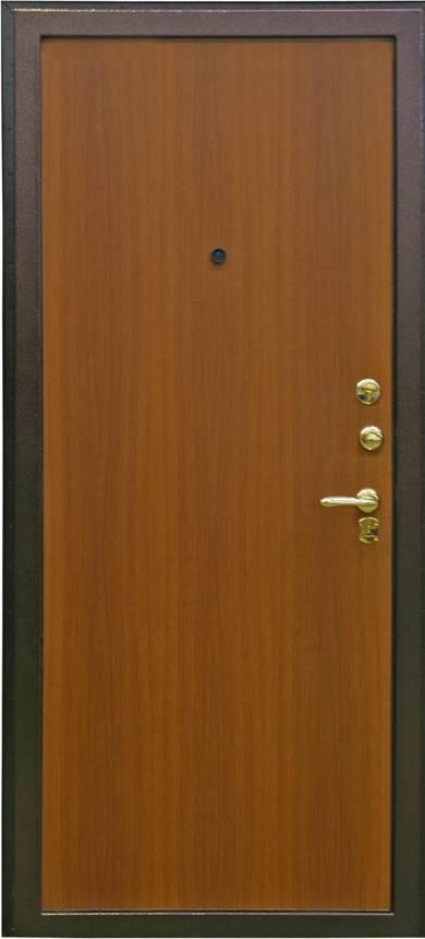 входная металлическая дверь с отделкой под дерево купить